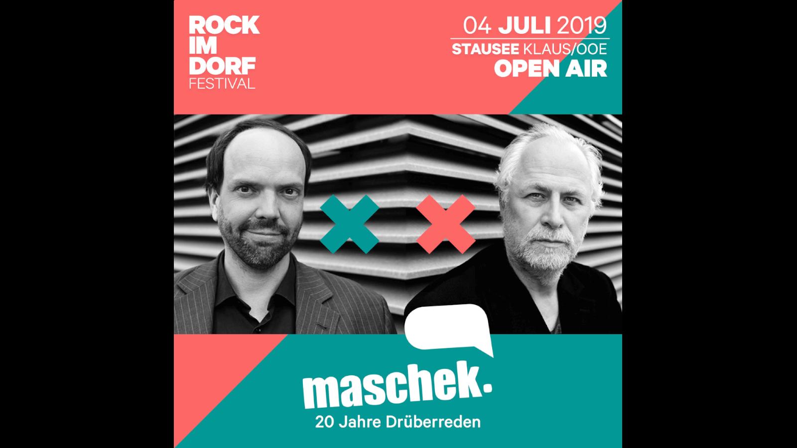 Rock im Dorf Festival 2019 - Donnerstag - Kabarett am See mit maschek.